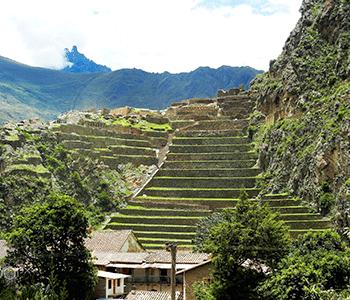 Zona arqueológica de Ollantaytambo - Tour valle sagrado de los incas