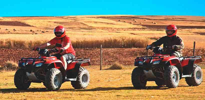Cuatrimotos en cusco, disfruta de una aventura sobre ruedas