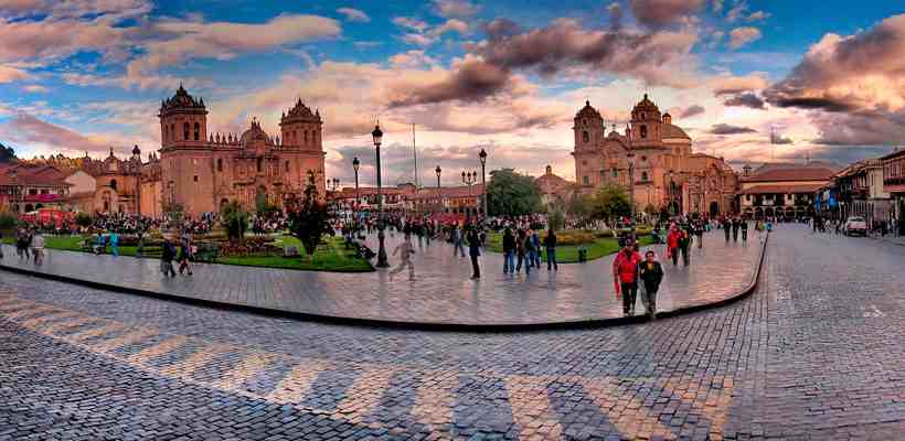 Plaza de armas Cusco simbolo inca por su mistica y belleza